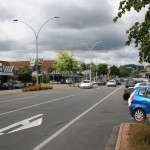 Gatuvy i Rotorua