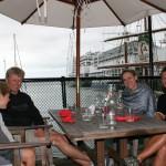 Härlig lunch i Princess Wharf