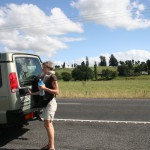 On the road to Rotorua
