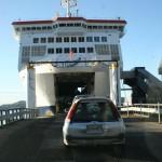 Äntligen får vi köra ombord på Kaitaki