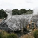Det geothermiska området är spännande...