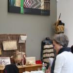 I butiken finns många produkter av harakeke och wharariki