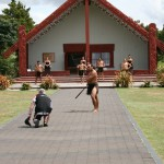 Maorisk inbjudningscermoni