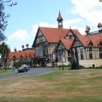 Rotorua Museum - en vacker byggnad...