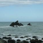 Stilla havet på Nya Zeelands ostkust