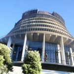 The Beehive - parlamentsbyggnad i Wellington