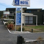 Vårt motell i Kaikoura