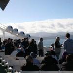 Vi lämnar Wellington på Nordön på Nya Zeeland
