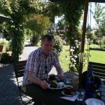 Per i den ljuvliga trädgården på Mainline Station Café