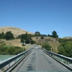 Bron över Hurunui River