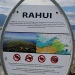Rahui - förbjudet område