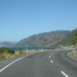 Vacker kustväg söder om Kaikourar