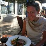 där vi åt en härlig Nya Zeeländsk lammrätt