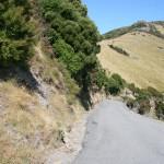 Bergsvägen Kinloch Road på Banks halvö
