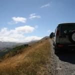 Härliga slingrande bergsvägar