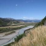 Väg nr 7 följer Boyle River upp mot Lewis Pass